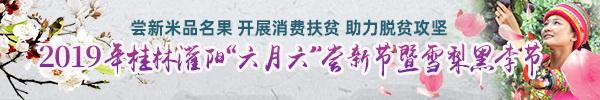 """直播回顾:尝名果品特产助脱贫!灌阳""""六月六""""尝新节暨雪梨黑李节今天精彩上演"""